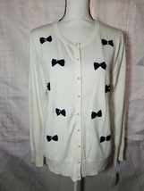 Charter Club Button Up sweater Style 100021723MS Edv Fine Gauge - $20.57
