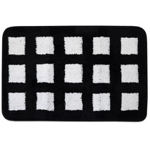 "Silhouette City Black & White Bath Accessory Collection Bath Rug 20"" x 30"" - $25.64"