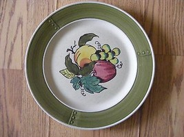 "Metlox Poppy Trail Provencial Fruit 10.5"" Dinner Plate - $5.00"
