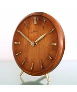 KIENZLE HAID TRIPOD Vintage Mantel Clock ICONIC DESIGN! 1950s HIGH GLOSS... - $295.00