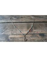 "Vintage Sterling Silver Bear Southwestern Style Necklace 16"" - $19.80"