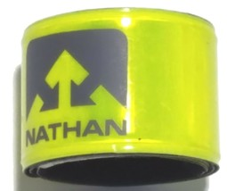 NATHAN  REFLECTIVE SINGLE ARM ANKLE BAND  WALKING JOGGING CYCLING SKATING - £2.41 GBP