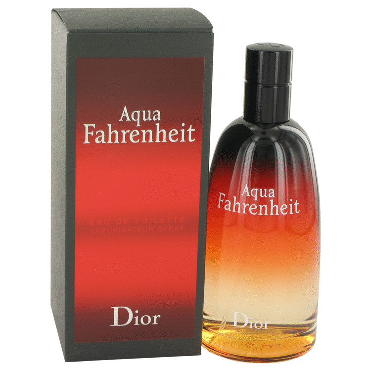 Christian Dior Aqua Fahrenheit 2.5 Oz Eau De Toilette Spray
