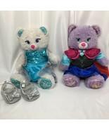 Build A Bear BAB Frozen Elsa Ana Bears Clothes Disney Costumes Shoes 2014 - $43.54