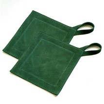 All Purpose Leather Suede Hot Pads For Use As Trivet and Pot Holder Set.... - $24.49