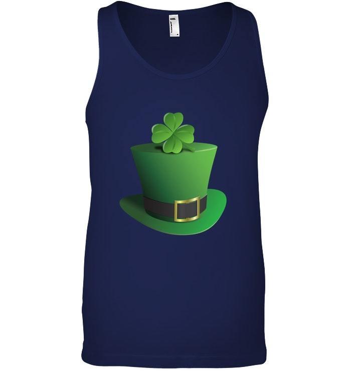 Leprechaun Hat Tank Top St Patricks Day Men Boys women