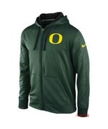 "Nike Oregon Ducks College KO Full Zip Logo Perf. GRN ""X-Large"" - $33.66"