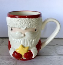 Santa Claus Coffee Mug Enesco New Box Christmas 14 Oz Cup Stacey Yacula ... - $9.89