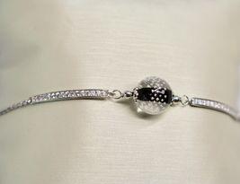 Bracelet Vintage Antique Murrina Venezia 925 Silver Murano Glass Charms Bead image 7