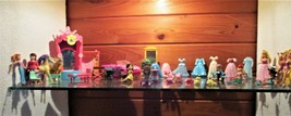 Huge Lot of Polly Pocket Dolls & Accessories Disney Princess - Car & Accessories - $24.70