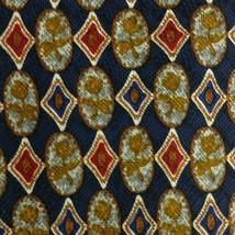 Blue Red Floral ZEGNA Silk Tie - $14.99