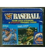1987 Fleer Baseball Card Complete Glossy Update Factory Sets. Includes r... - $29.99