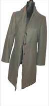 Ann Taylor Womens Coat Brown Buttons Side Pockets Collared 4 - $58.40
