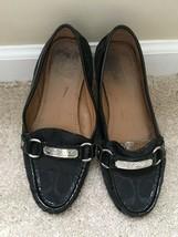 Coach Women's Black Felisha Loafers Size 6.5M A2134 - $11.88