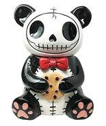 Ebros Furry Bones Pandie Panda Ceramic Cookie Jar Furrybones Voodoo Pand... - $38.11