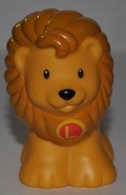 """Fisher Price Little People Lion """"L"""" on Chest (2004) - Replacement Figure... - $7.50"""