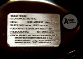 1926 21 Single Harley Davidson 1.38 oz .999 Silver Bar AA19-CND6028 image 2