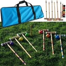 Bud Light 6 Player Complete Game Croquet Set (24-Piece)  image 2