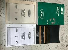 2004 FORD F150 F-150 TRUCK Service Shop Repair Workshop Manual Set W Bul... - $98.99