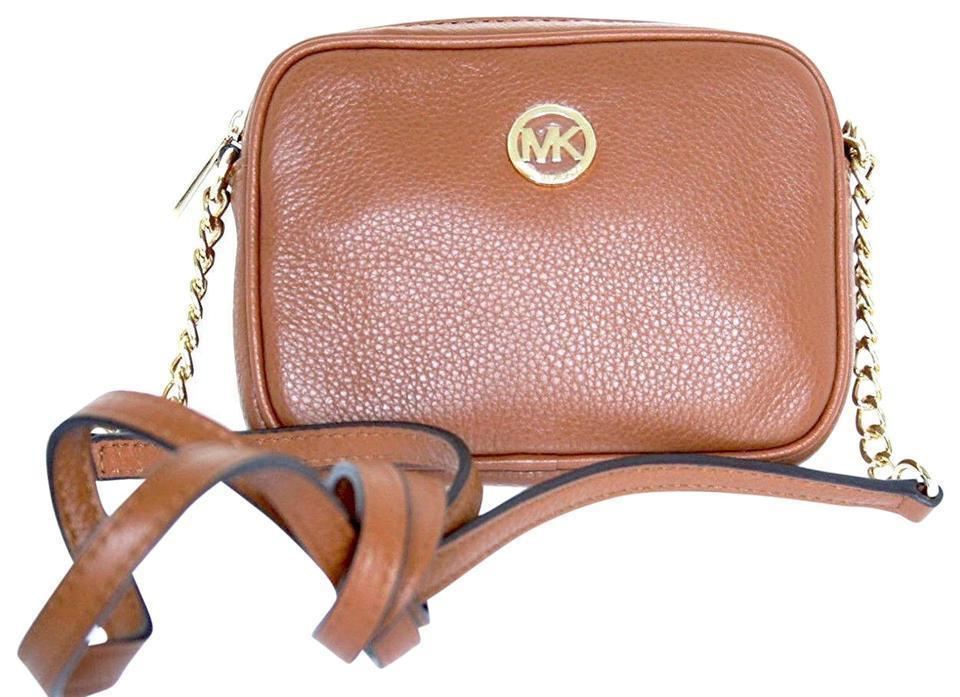 1435101434ee93 S l1600. S l1600. Previous. Michael Kors Fulton Large East West Leather  Crossbody (Acorn) NWT. Michael ...
