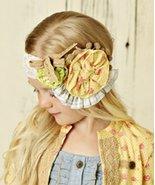 Mustard Pie Yellow Colette Headband Girls Headwrap MSRP $30.00 YOU SAVE $8 - $22.00