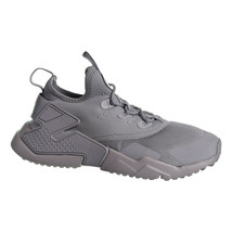 Nike Huarche Drift Big Kids Shoes Wolf Grey-White 943344-003 - $54.57