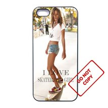 Skateboard GirlLG g5 case Customized Premium plastic phone case, - $12.86