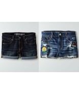 American Eagle Outfitters DENIM X HI-RISE and MIDI SHORTIE Size 2-6 NWT - $29.95