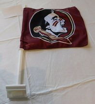Win Craft Two Sided Graphics Car Truck Flag FSU Florida State Seminoles NEW - $19.05