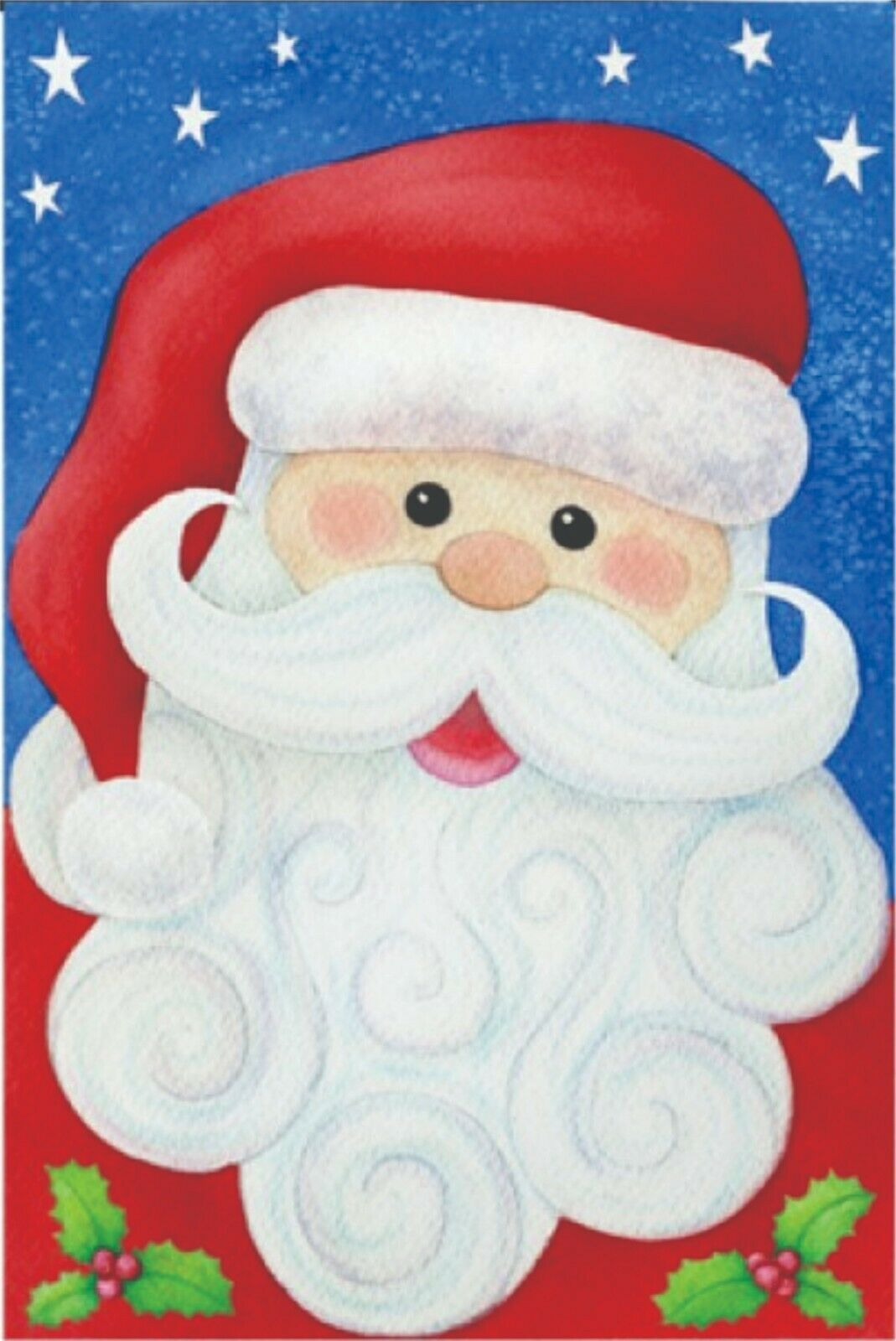 Jolly Santa Garden Flag - 12 x 18 inches - $7.84