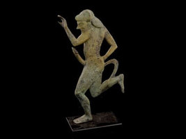 Bronze Statue of Satyr - Museum Quality Item - Ancient Greek Mythology  - $179.90