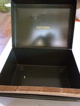 Vintage Art Steel Co Metal File Filing Box With Alphabet Dividers New York - $15.99