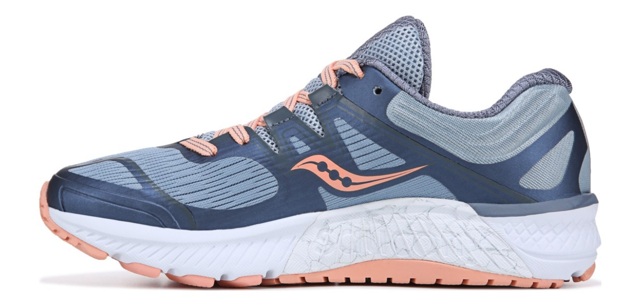 Saucony Guide ISO Size 9.5 M (B) EU 41 Women's Running Shoes Peach Blue S10415-5