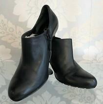 "COLE HAAN Black Leather ""Air"" Ankle Booties/Heels Sz US 7 $200 - $85.04"