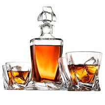 The Helix Decanter Set - $79.00
