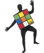 Rubik's Cube  Costume,  One Size, Rubik's Cube Licensed Fancy Dress #AU - $36.14
