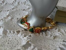 Avon Designer Signed Christmas Slide Bracelet Large - $9.69