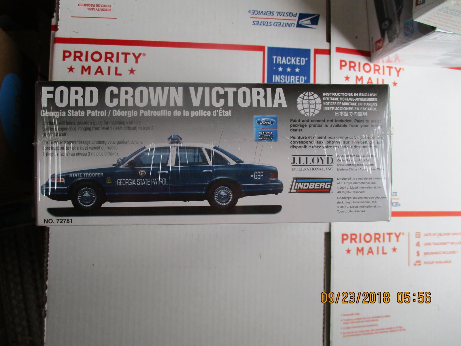 Lindberg Georgia State Patrol Ford Crown Victoria 1/25 scale