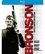 Bronson Triple Threat Collection (Blu-ray Disc, 2014, 3-Disc Set) - $6.69