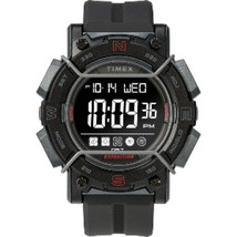 Timex Expedition Digital Face 47mm - Black Screen w/Black Resin Strap - $48.47