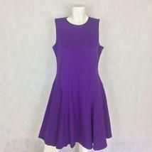 Lauren Ralph Lauren dress Shift Purple Sz L Casual Career - $39.99