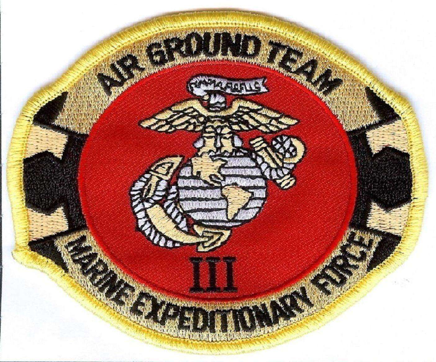 USMC 3rd Marine Expeditionary Force PATCH III MEF Air Ground Team 3d MEF - $1,000.00