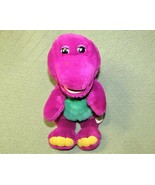 "VINTAGE BARNEY THE PURPLE DINOSAUR 13"" PLUSH STUFFED ANIMAL YELLOW LIPS ... - $19.80"