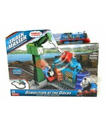Track Master THOMAS & Friends Demolition At The Docks Playset Cranky - $23.76