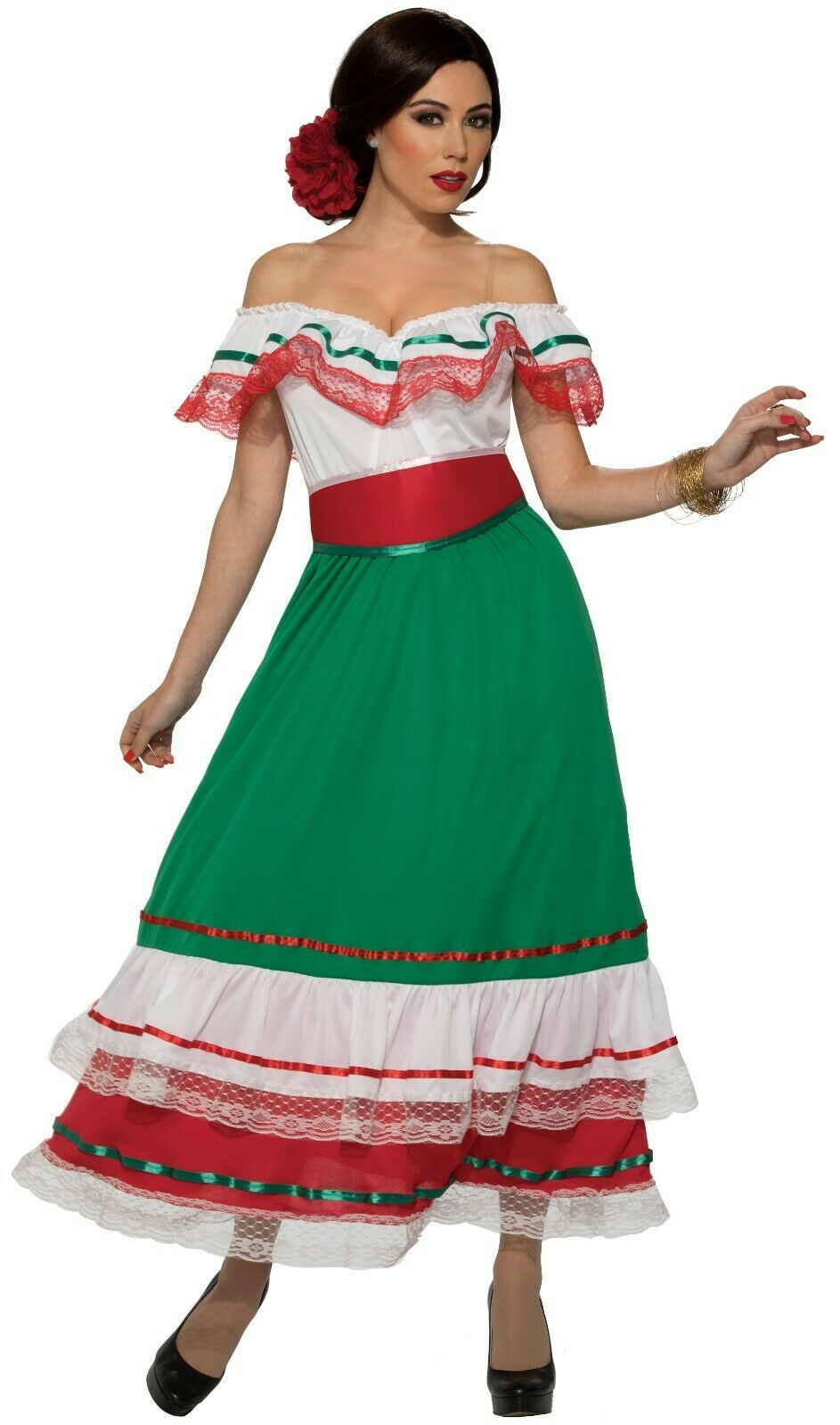 Primary image for Forum Novelties Fiesta Mexican Party Dress Adult Womens Halloween Costume 84729