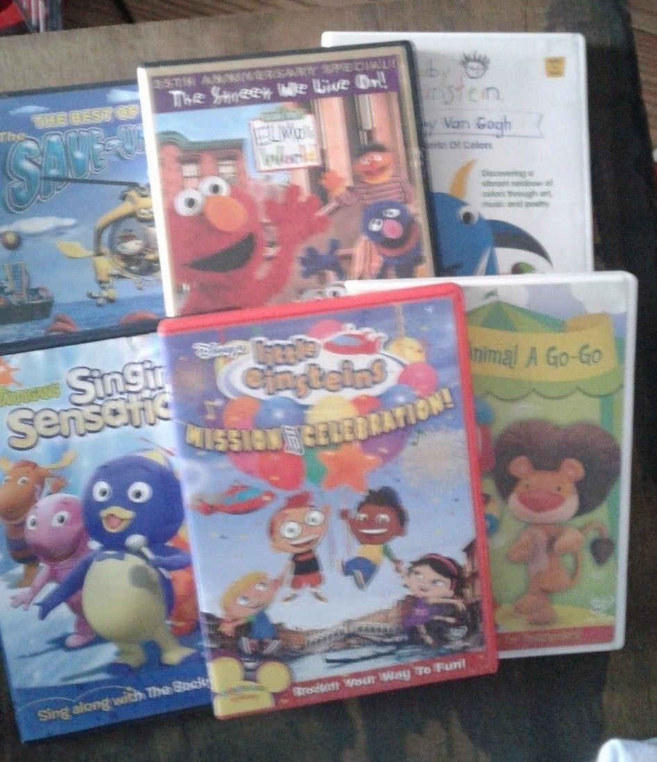 6 Dvd Lot Little Einsteins Backyardigans And 13 Similar Items