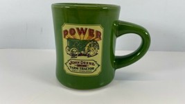 OFFICIAL John Deere FARM TRACTOR Green Coffee Mug Cup CERAMIC with Logo ... - $10.84