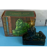 Avon Classic Lion Deep Woods Aftershave Bottle Fully Intact In Box EMPTY... - $11.85