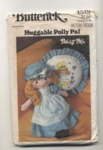 Vintage Butterick 4519 Polly Pal Stuffed Doll, Clothing and Pillow Sewing Patter - $10.78