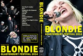 BLONDIE - GLASTONBURY FESTIVAL 2014  DVD - $23.50